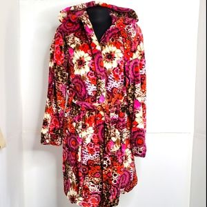 Vera Bradley Soft and Cozy Short Robe size S / M